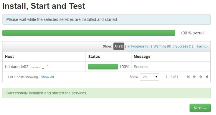 ambari-new-host-install-success