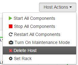 delete host