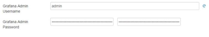 ambari grafana config uname password
