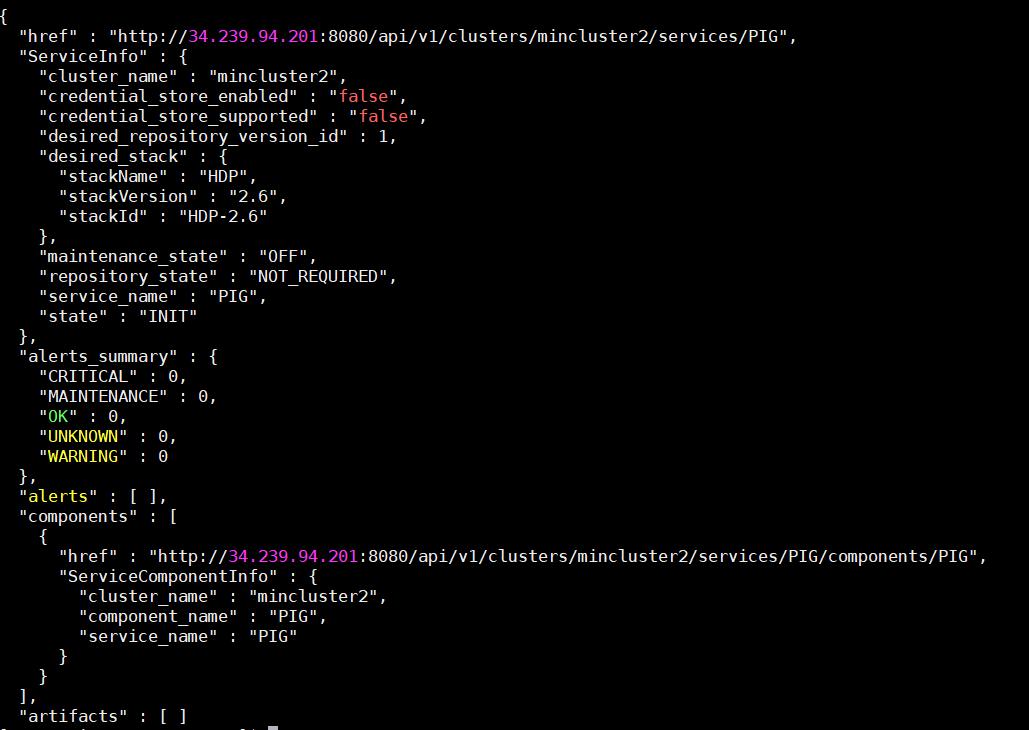 Adding service to HDP using REST API – markobigdata