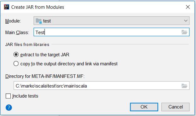 create jar from modules