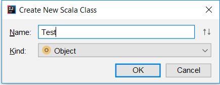 new scala class