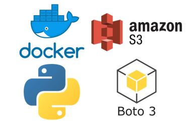 Docker, AWS, Python3 and boto3